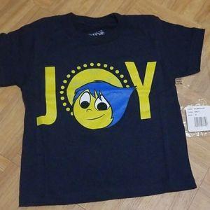 Joy Inside Out Disney Pixar Kids T-Shirt 3T